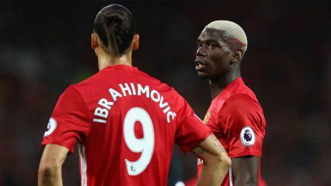 Ibrahimovic & Pogba Kembali Membela Manchester United