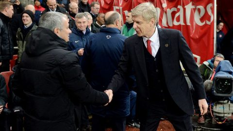 Mourinho Malas Komentari Sanksi Arsene Wenger