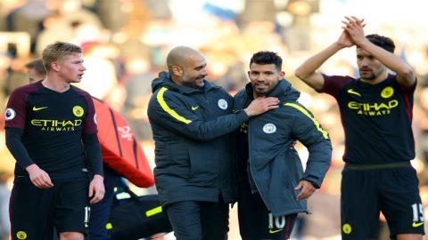 Pep Guardiola Tak Jamin Sergio Aguero Bertahan