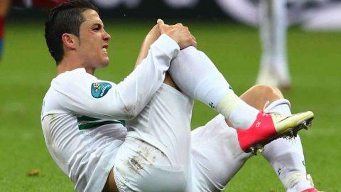 Cristiano Ronaldo Absen Latihan Jelang Duel Kontra Napoli