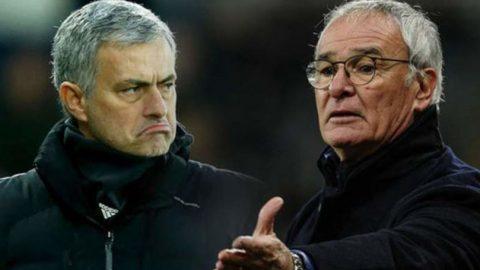 Leicester Dikalahkan Manchester United, Mourinho Langsung Bela Claudio Ranieri
