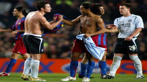 Frank Lampard Kenang Sentuhan Magis Ronaldinho