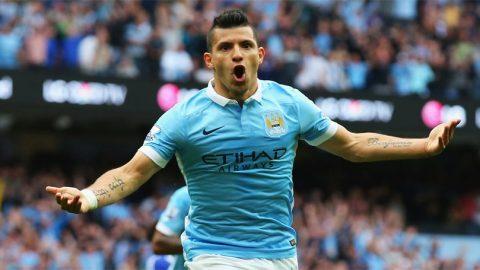 Sergio Aguero Siap Bersaing Dengan Pemain Anyar Manchester City Gabriel Jesus.