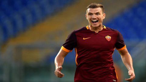 Edin Dzeko: Kemenangan Atas Palermo Berikan AS Roma Kepercayaan Diri