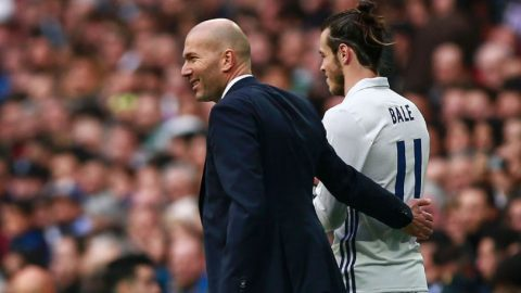 Gareth Bale Kagumi Ketenangan Zinedine Zidane
