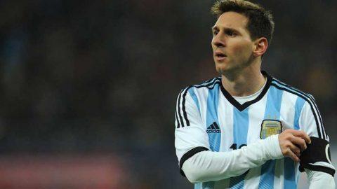 Hina Hakim Garis, Lionel Messi Diskors Empat Laga