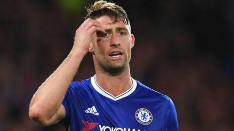 Gary Cahill Yakin Chelsea Raih Double