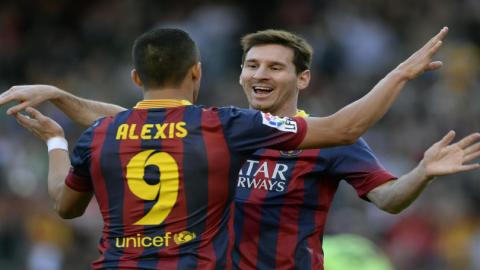 Alexis Sanchez: Mentalitas Pemenang Lionel Messi Luar Biasa!