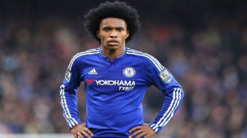 Dikaitkan Dengan Manchester United, Willian Tegaskan Bertahan Di Chelsea
