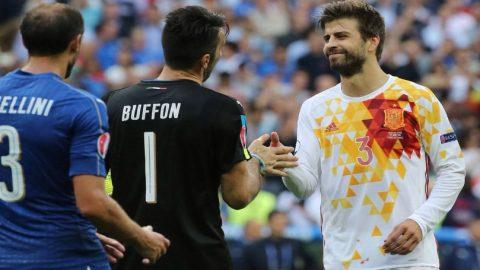 Gerard Pique Pilih Gianluigi Buffon Menangi Ballon D'Or