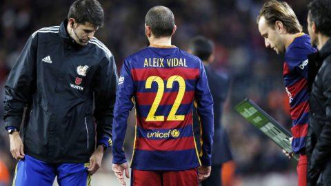 Duo Milan Tertarik Rekrut Aleix Vidal