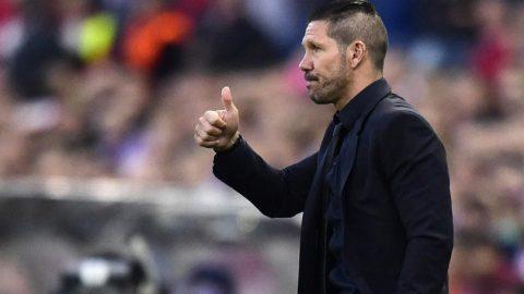 Hajar Las Palmas 5-0, Diego Simeone Semringah