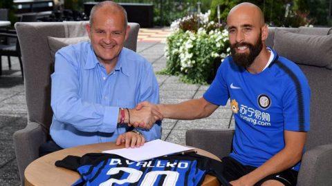 Borja Valero Senang Dengan Aura Positif Inter Milan