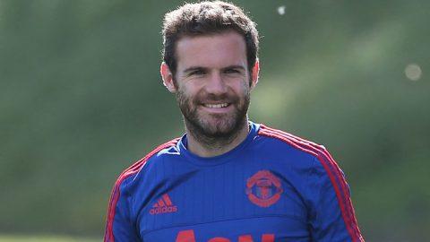 Juan Mata Kembali Latihan