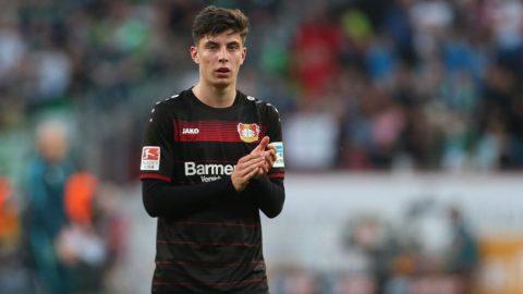 Kai Havertz Teken Kontrak Profesional Di Bayer Leverkusen