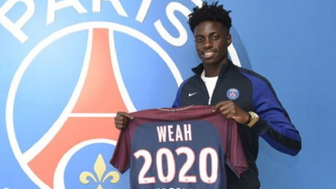 Paris Saint-Germain Patenkan Masa Depan Timothy Weah