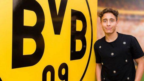 Borussia Dortmund Lepas Emre Mor Ke Inter Milan