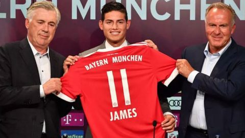 Bayern Munich Konfirmasi Cedera James Rodriguez