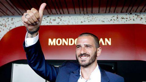 Leonardo Bonucci : Perjalanan AC Milan Domulai