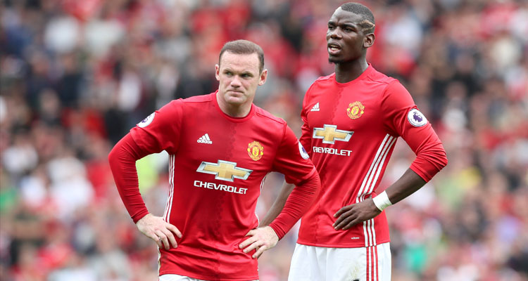 Pogba And Rooney