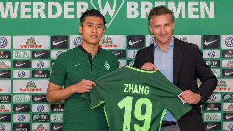 Penyerang Tiongkok Ini Berambisi Untuk Cetak Banyak Gol Di Ajang Bundesliga