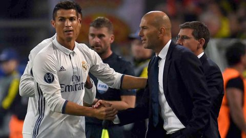 Zinedine Zidane Akan Mainkan Cristiano Ronaldo Saat Melawan Fiorentina