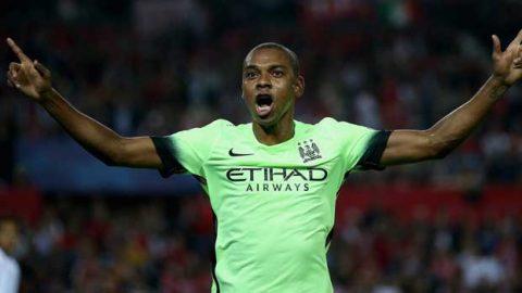 Fernandinho : Shakhtar Donetsk Akan Serang Manchester City