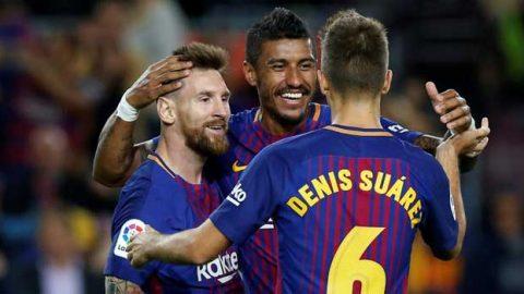 Paulinho : Saya Hanya Membantu Lionel Messi