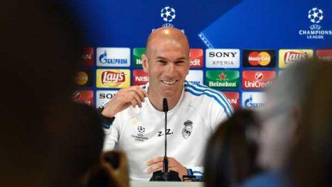 Zinedine Zidane : Menjadi Pelatih Barcelona? Maaf Hati Saya Selalu Putih!