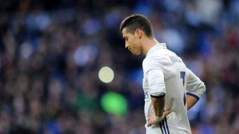 Ronaldo Terlihat Sedih Di Real Madrid