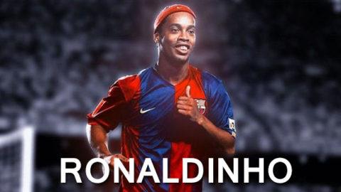 Coutinho : Sang Dewa Sepakbola, Ronaldinho!