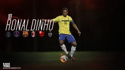 Ronaldinho Lebih Berbakat Dari Messi Dan Ronaldo