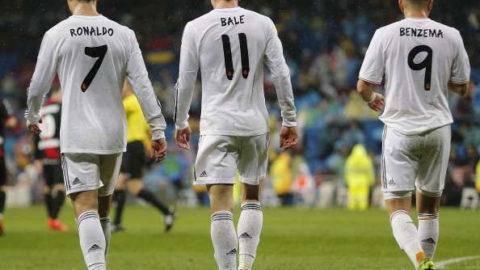 Ronaldo, Bale, Benzema, Absen Dari Real Madrid