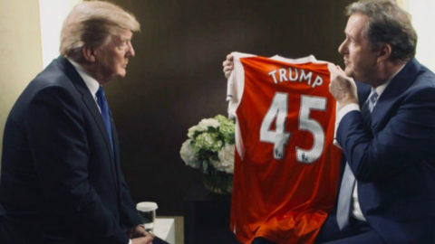 Donald Trump Diundang Menjadi Manajer Arsenal