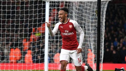Debut Aubameyang Positif Hebat di Arsenal