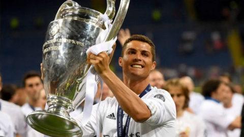 Ronaldo Akan Merebut Piala Liga Champions