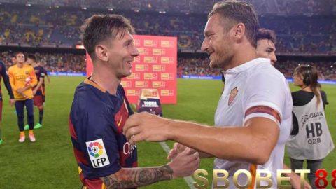 AS Roma Tanpa Francesco Totti Seperti Barcelona Tanpa Lionel Messi