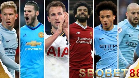 Nominasi Final PFA Player Of The Year 2018 Diumumkan