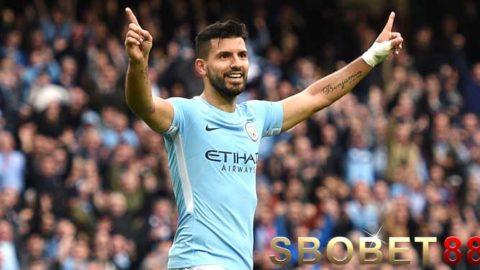 Sergio Aguero Lega Manchester City Cepat Segel Juara Liga Primer Inggris