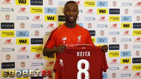 Naby Keita, Penerus Steven Gerrard Di Liverpool