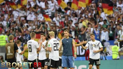 Jerman Bermain Bagus Ketika Dalam Tekanan