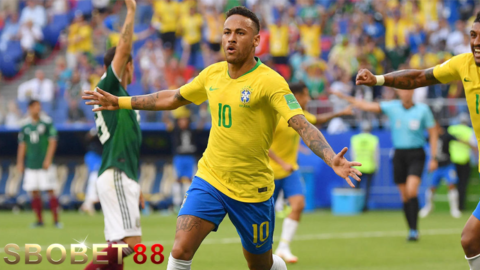 Neymar Banyak Akting