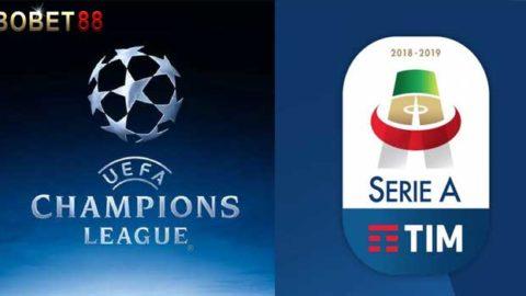 Jadwal Pertandingan Liga Champions November 2018 dan Liga Italia Serie A 2018/2019 Minggu ke11