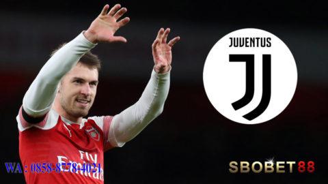 Juventus Sukses Boyong Aaron Ramsey