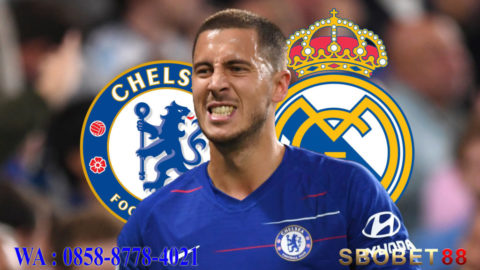 Hazard Mantap ke Real Madrid