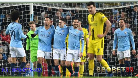 Kemenangan Telak, Manchester City Bantai 9-0 Burton Albion