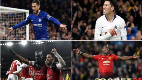 Secara Kompak Penghuni 3 – 6 Klassemen Liga Inggris 2018-2019 Gagal Menang di Pekan ke 36
