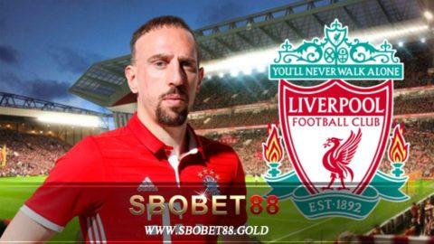 Liverpool Dikabarkan Tertarik Untuk Mendatangkan Ribery