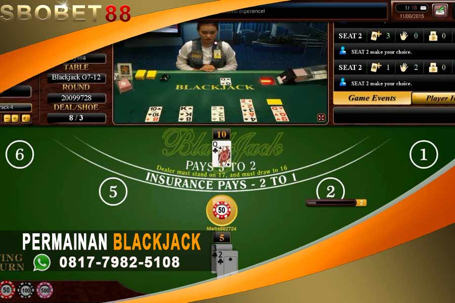 Asal Mula Permainan Blackjack