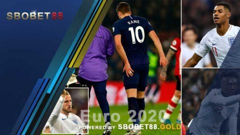 Inggris Yang Terancam Kehilangan Striker Di Piala Euro 2020